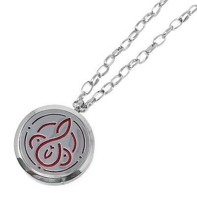 Vitality Diffuser Pendant with chain link necklace chain
