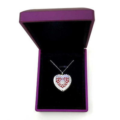 Passion Diffuser necklace with lighted jewelry box
