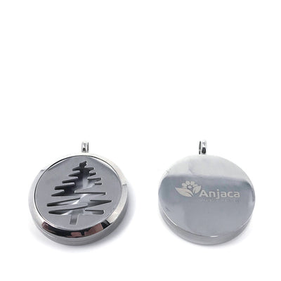 Pine Tree Diffuser pendant front and back views