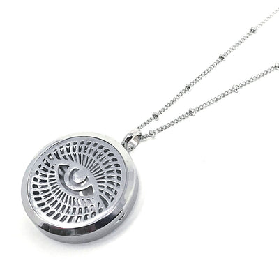 Anjaca Mindseye Diffuser Necklace with chain