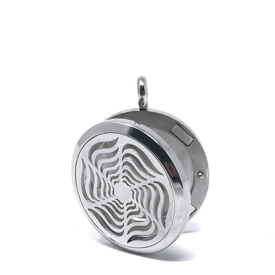 Radiant Star Diffuser Pendant opened locket