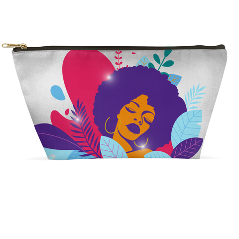 Beauty Blossoms Within Accessory Pouch