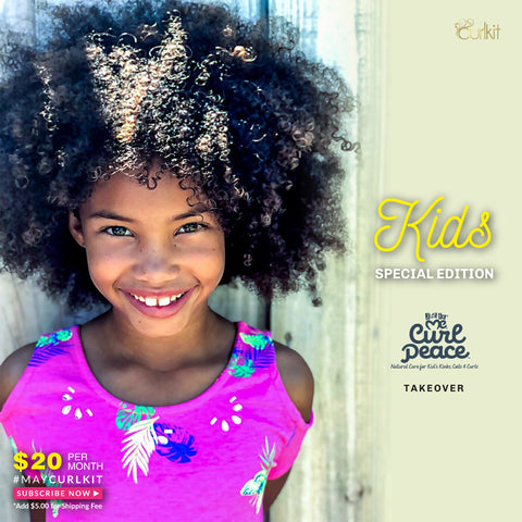 CurlStar Kid's Edition - Just Me $20.00 plus free shipping- SOLD OUT