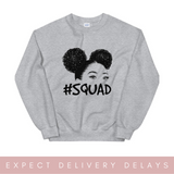 Natural afro #Squad Afro Sweatshirt