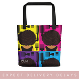 Pick a CurlFro Multipurpose Tote bag