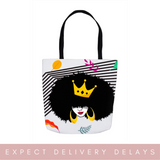 Crown Her Naturally Bag (Leaves Version)