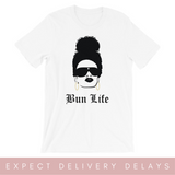 Bun Life 2 Short-Sleeve Unisex T-Shirt- White