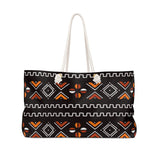 It's Wavvy Bogolan Print Style Weekender Bag
