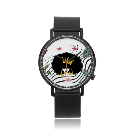 CROWN HER NATURAL LILIES & PALMS  CUSTOM WATCH