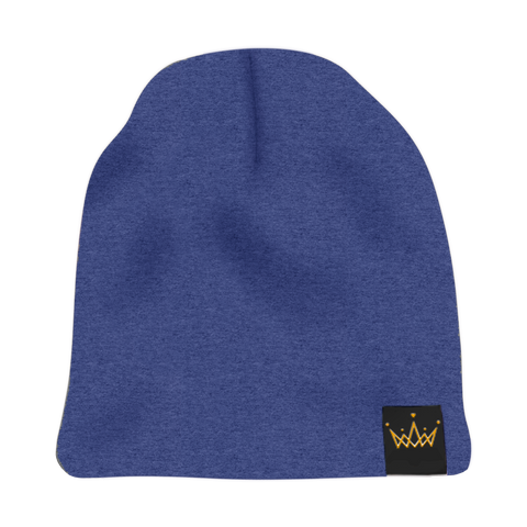 The Savage Crown Co. Satin-Lined Beanie Navy