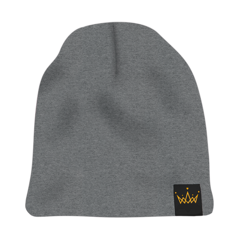 The Savage Crown Co. Satin-Lined Beanie Gray