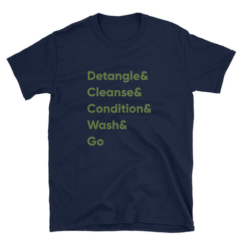 Datangle to WashGo Short-Sleeve Unisex T-Shirt
