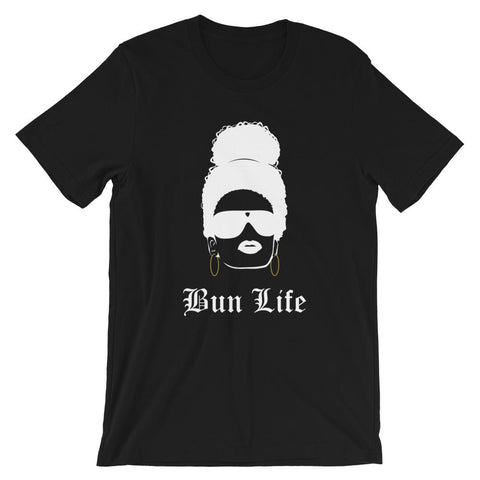 Bun Life 2 Short-Sleeve Unisex T-Shirt-Black