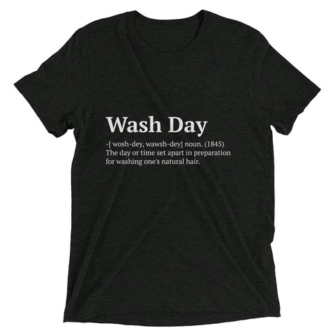 Wash Day Short sleeve t-shirt