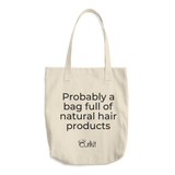 FULL OF NATURAL HAIR PRODUCTS TOTE BAG Upsell 1