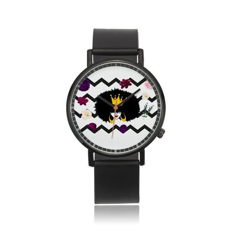 Crown Natural with Ponies Custom Watch