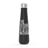 The Future is Still Natural Peristyle Water Bottle