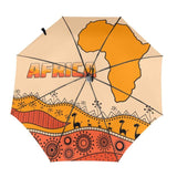Automatic Three-folding Umbrella - Silhouette Of Mainland