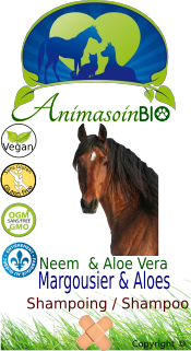 Cheval-Shampoing Aloes & Neem-P