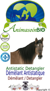 Cheval -  Démêlant Anti-Statique / Horse - Anti static detangler-P
