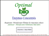 Enzymes Concentrés - Optimal Bio