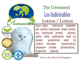 Lotion  Les Indésirables Chat / Unwanted Lotion Cat -P