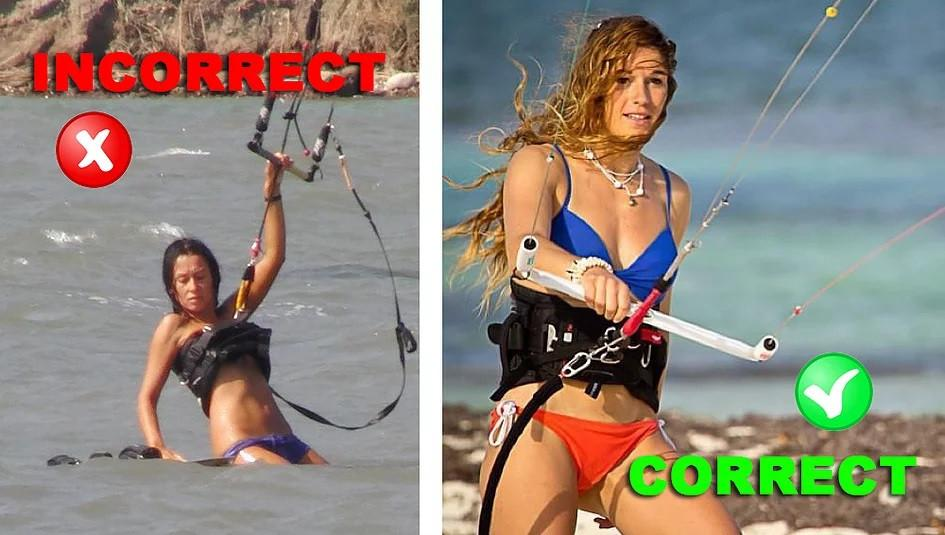 How to Wear a Kiteboarding Harness