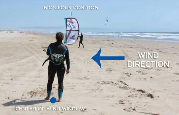 How to Launch a Kiteboarding Kite