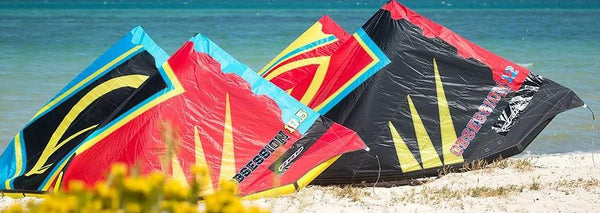 How to Rig a Kiteboarding Kite (Downwind)