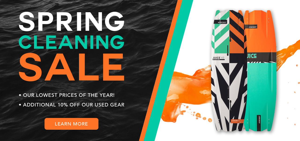Kiteboarding Spring Cleaning Sale