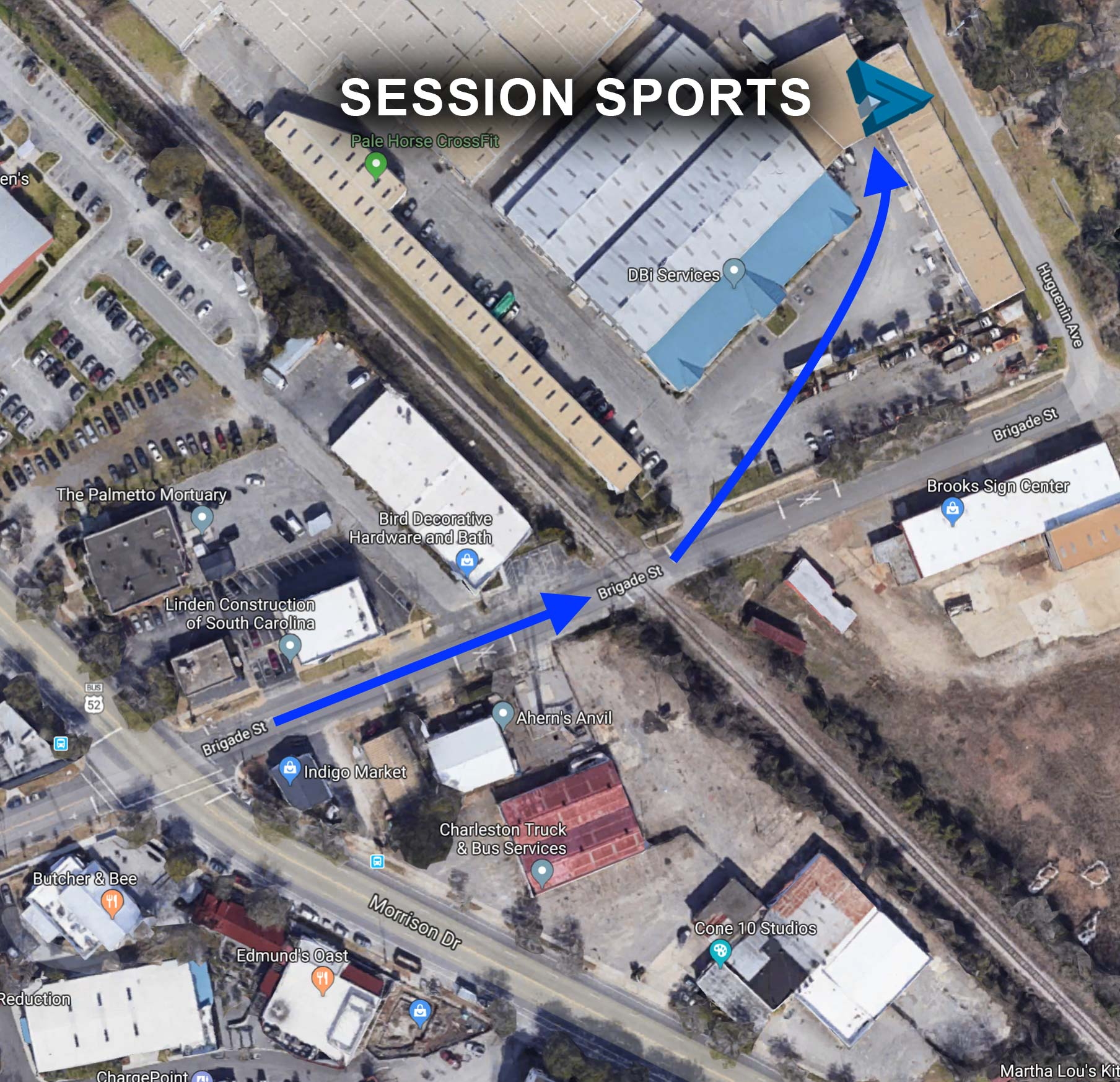 Session Sports Showroom Location