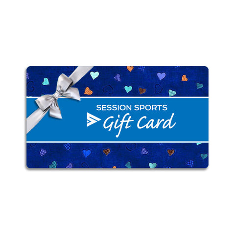 Session Sports Valentines Day Gift Card