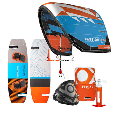 2018 RRD Passion All-Round Kiteboarding Package - Cyan