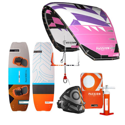 2018 RRD Passion All-Round Kiteboarding Package - Pink