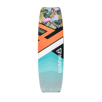 2019 Brunotti Blast Junior Wood-Core Twintip Kiteboard - Bottom
