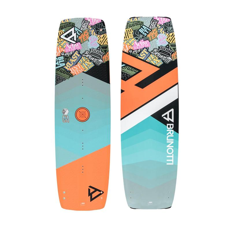 2019 Brunotti Blast Junior Wood-Core Twintip Kiteboard