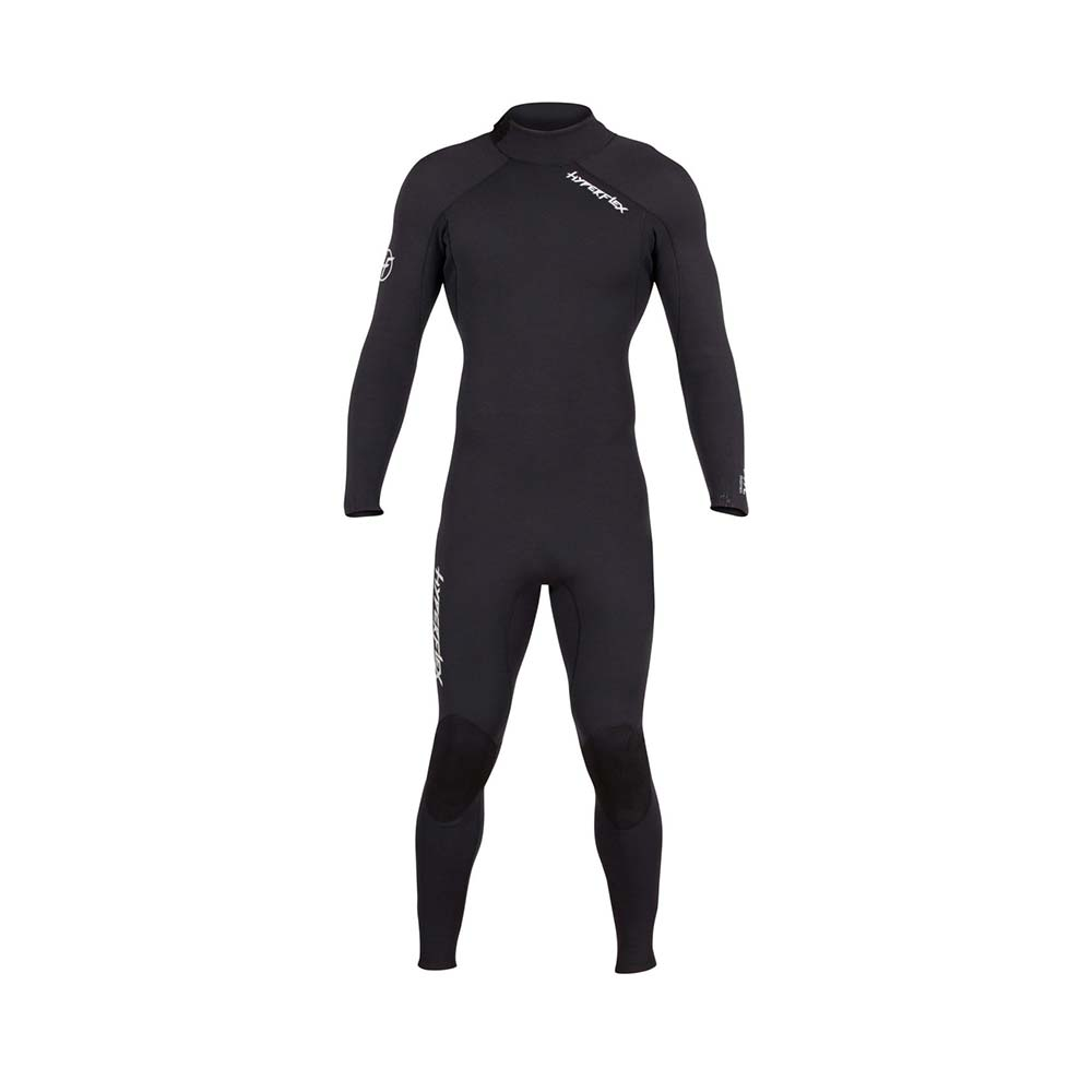 Hyperflex 5/4 Vynl GBS Back Zip Full Suit Wetsuit, 2019 - Front
