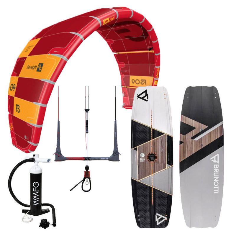 Session Closeout Kiteboarding Package