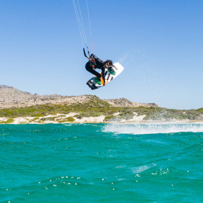 2020 RRD Bliss LTD Kiteboard Flying Action