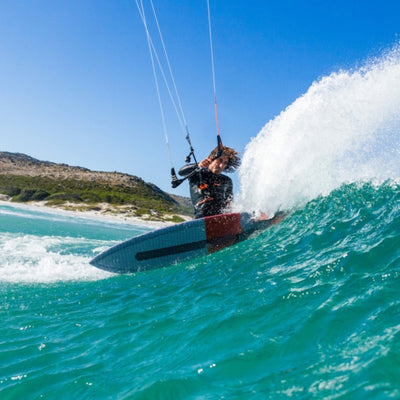 2020 RRD Maquina Kitesurf Board Action