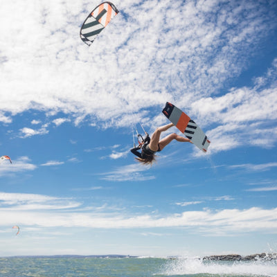 2020 RRD Placebo Lightwind Kiteboard Flying Action