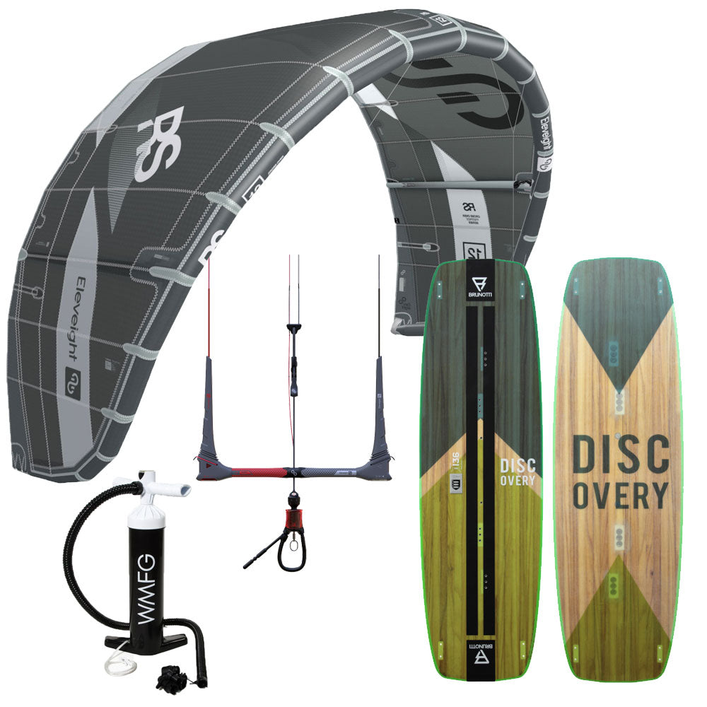 Session Progression Eleveight RS Kiteboarding Package