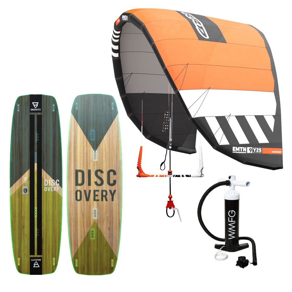 Session Emotion Starter Package - Beginner Kiteboarding Package