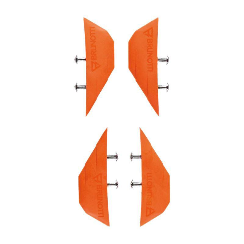 Brunotti Splitter Twintip Kiteboard Fins (Pair Of 4)