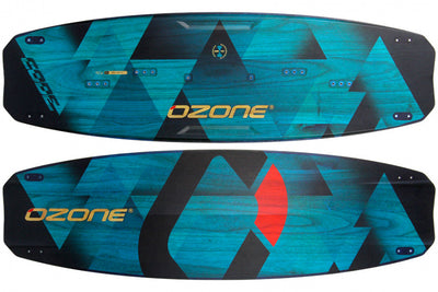 Ozone Code V2 Freeride Kiteboard-both-side-blue