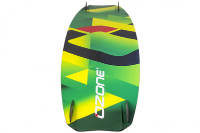 Ozone Code V2 Freeride Kiteboard-hardware-bottom