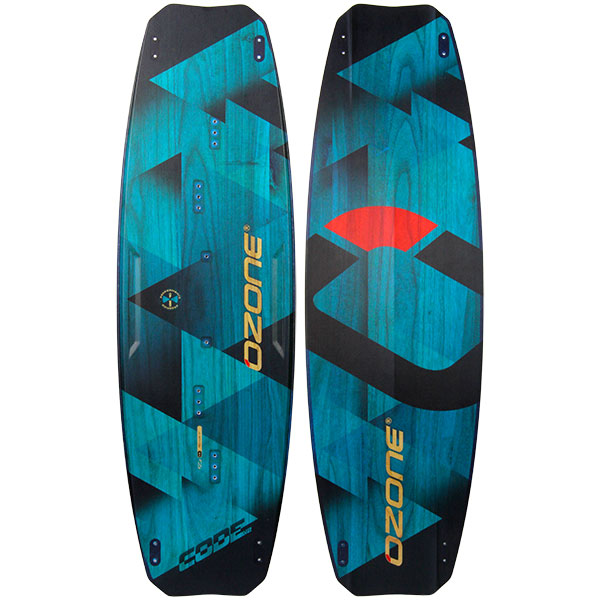 Ozone Code V2 Freeride Kiteboard-Green