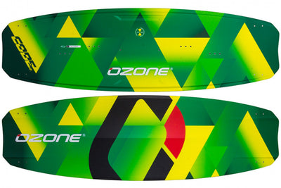 Ozone Code V2 Freeride Kiteboard-comp-yellow