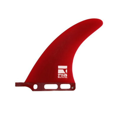 "D.d. 7.0"" Fin By Fins Unlimited Red Tint"