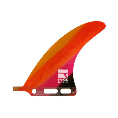 "D.d. 7.0"" Fin By Fins Unlimited Tequila Sunrise"